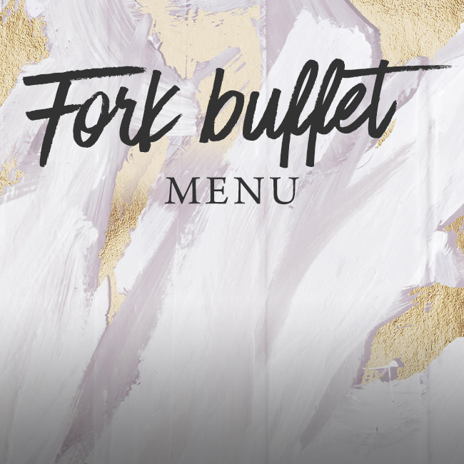 Fork buffet menu at The Merlin