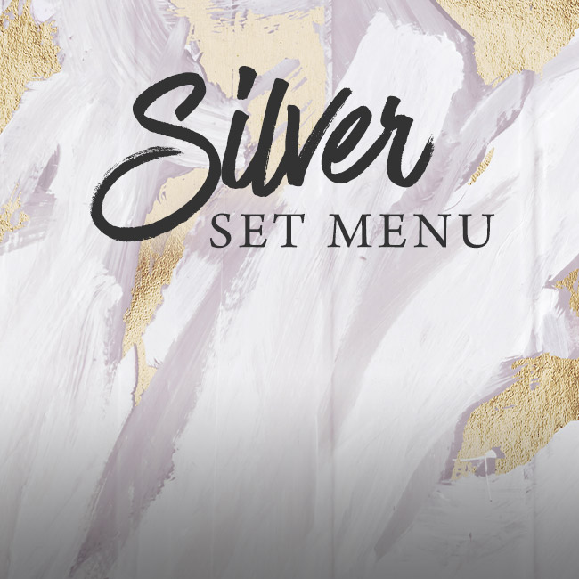 Silver set menu at The Merlin