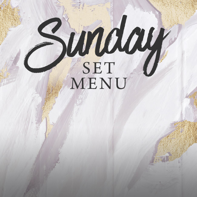Sunday set menu at The Merlin