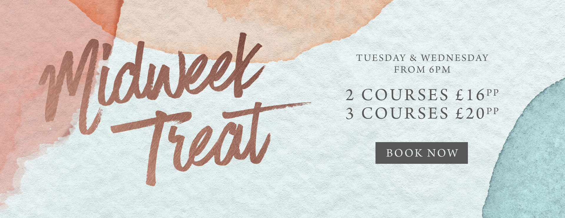 Midweek treat at The Merlin - Book now