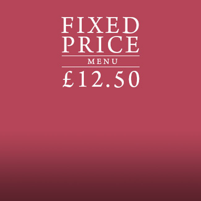 Fixed Price Menu at The Merlin
