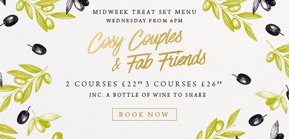 Midweek treat set menu at The Merlin